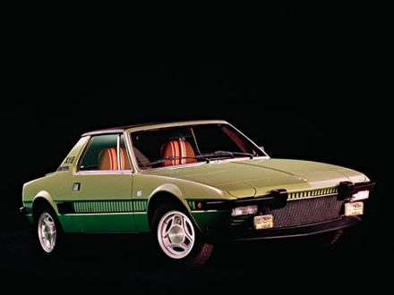 1972 Fiat X1 9. Fiat X1/9 1972-1989